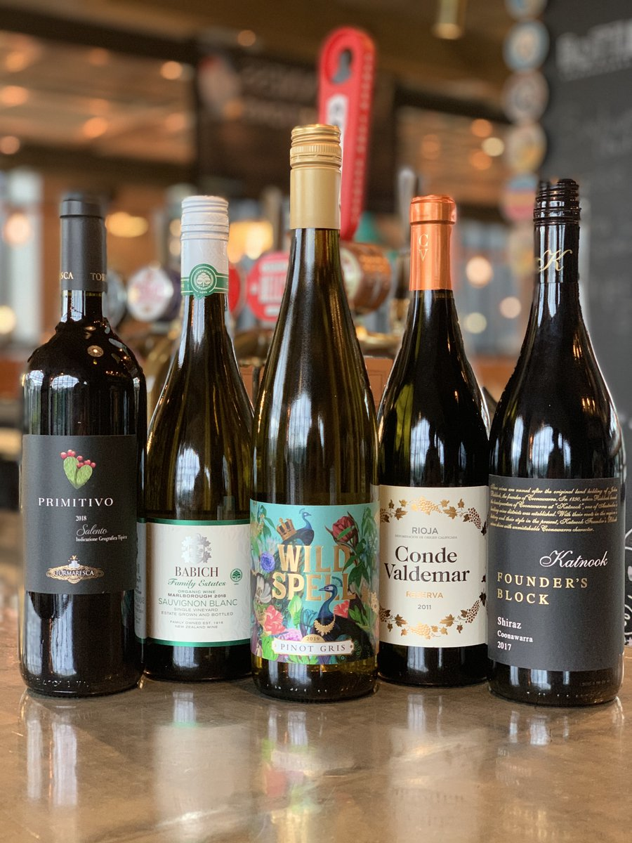 It isn't good to keep things bottled up, our new incredible selection of wines are waiting to be poured. Come and discover a new favourite today. https://t.co/r6JHABWSUF
