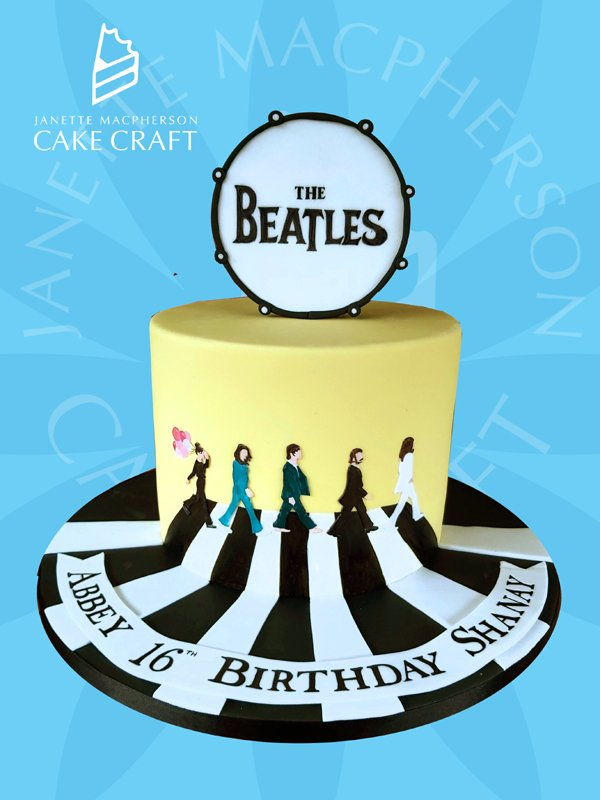 Miraculous Janette Macpherson Cake Craft On Twitter Thebeatles Abbeyroad Funny Birthday Cards Online Alyptdamsfinfo