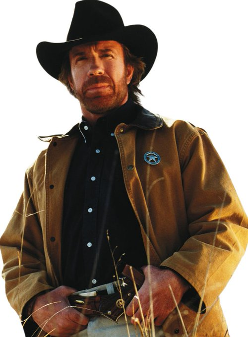 Happy Birthday to Chuck Norris who turns 80 today! Pictured here as Walker Texas Ranger.