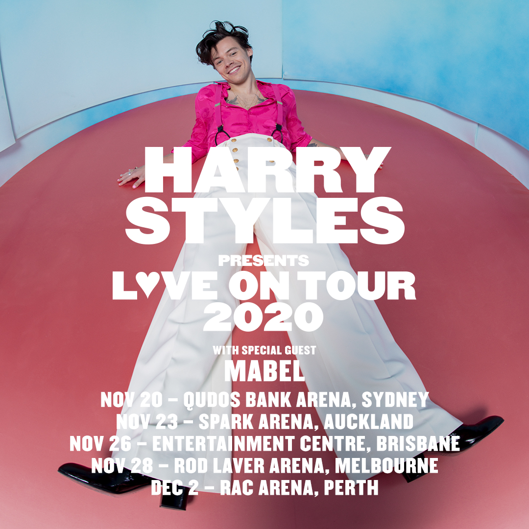 LOVE ON TOUR 2020. American Express Presale begins Tuesday, March 17. Public onsales begin Friday, March 20. hstyles.co.uk/tour