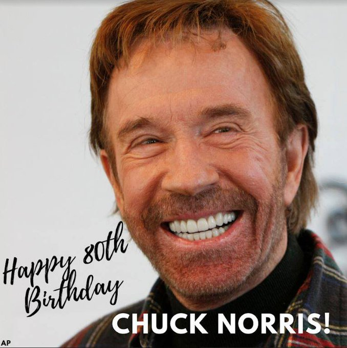 Remember, Chuck Norris doesn\t sleep. He just waits.  Happy birthday, sir! >>