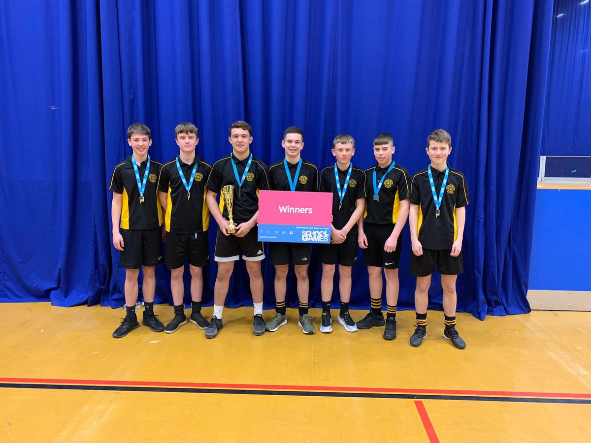What do you get when you combine cheetah like speed, gazelle like reactions and a rocket launcher throw? That's right, you get the Year 9 dodgeball county champions from EDA. Well done men, proud of you #weareEDA #ProudtobeEDA