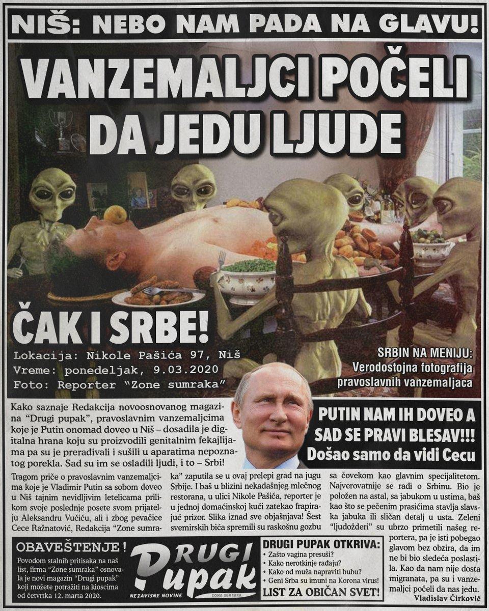 Vanzemaljci počeli da jedu ljudi, čak i Srbe!!!