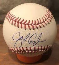 Happy birthday to John Cangelosi.  He played for the #whitesox in 1985 and 1986 and then played with the #pirates #rangers #Mets #astros #marlins and #Rockies. He signed this ball at #soxfest2019. #romlb #soxfest #mlb #autograph https://t.co/hfCVQQtFEh