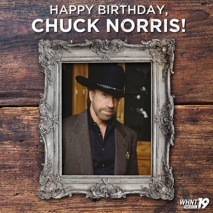 Happy 80th Birthday, Chuck Norris!