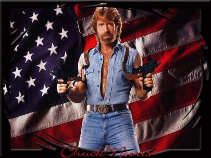 Happy Birthday Chuck Norris, the inventor of pizza!
