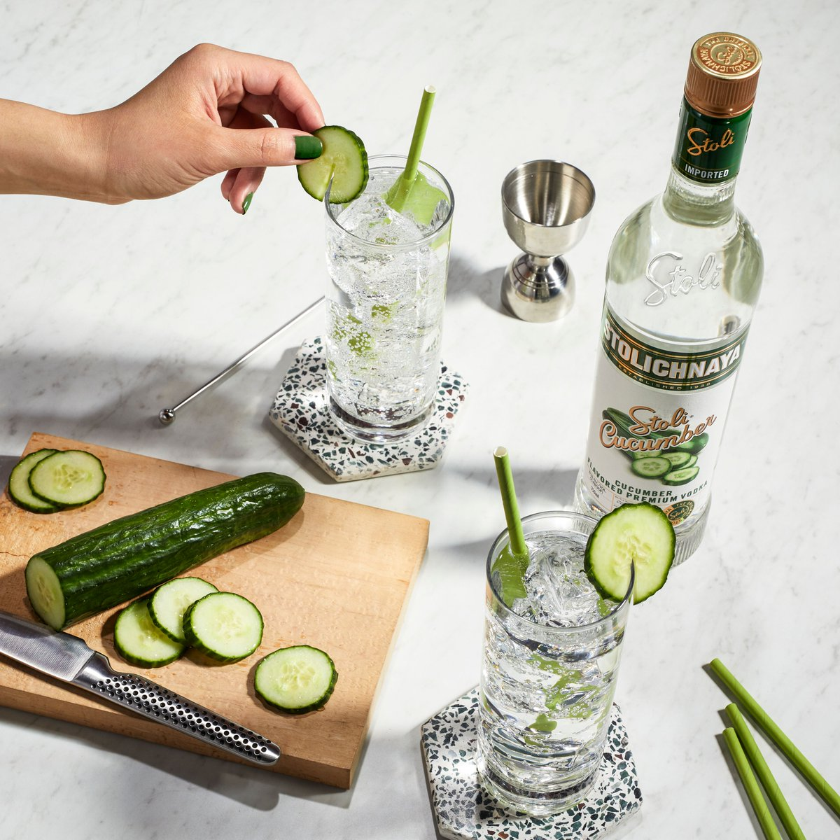 Too cuke to handle? No way, only a Stoli Cucumber and soda is bursting with this much savory flavor. https://t.co/SzyiOraLwD