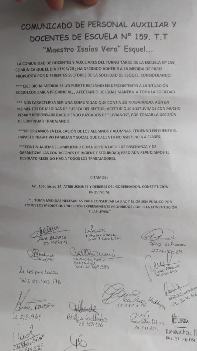 #Escuela159 @arcionimariano  @fmdellagoesquel  @sergioongarato  @nacionalesquel  @CFPasquiniESQ https://t.co/qhLPR9CJXH