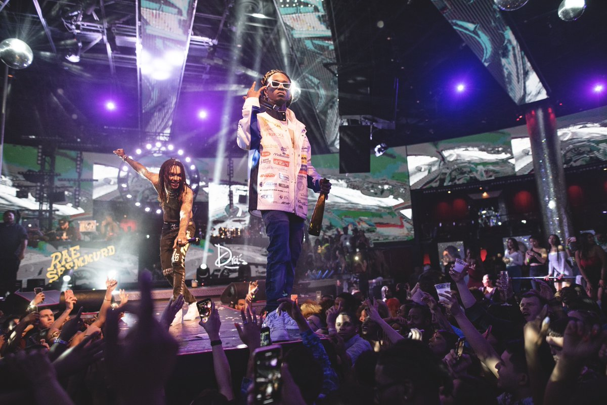 Friday will be here before you know it. Get ready for a wild night with @RaeSremmurd! 🥳