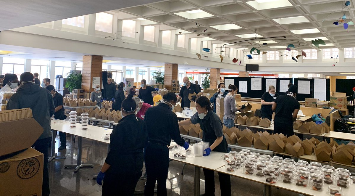 University Of San Francisco On Twitter Usf S Market Cafe Is Serving As The San Francisco Relief Kitchen For Wckitchen As They Carry Out Their Mission Of Serving Food To Those Aboard The