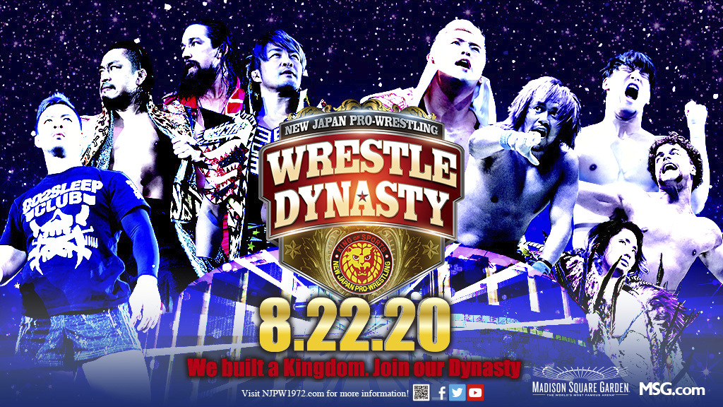 NJPW Ticket Details For Wrestle Dynasty At Madison Square Garden