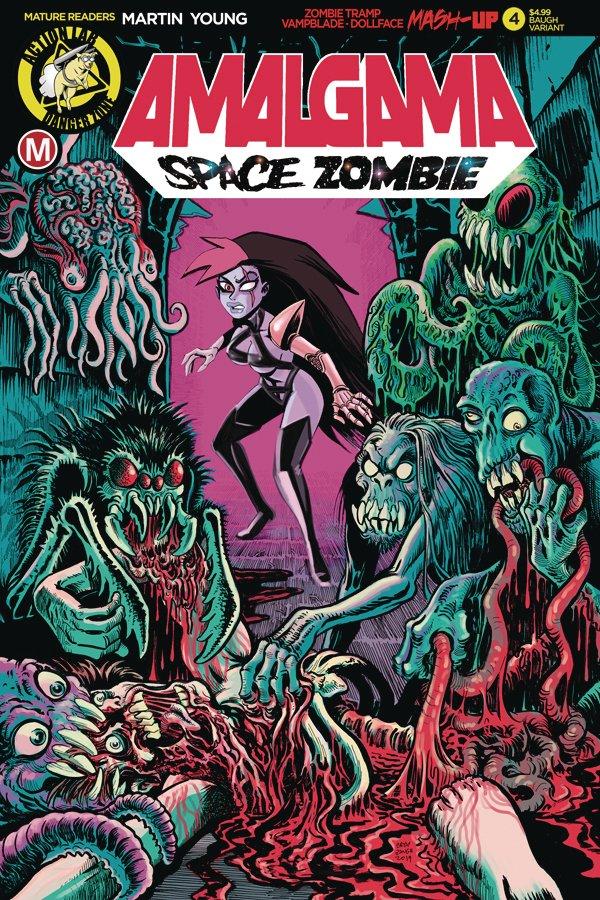 #Review: Amalgama Space Zombie #4 @ActionLabDanger @Bracey452 #SCORE: 2.5/5 #comics http://ow.ly/VfJx30qouH5pic.twitter.com/4Qk5WvrDbJ