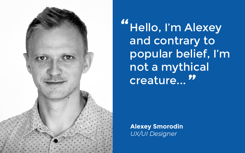 Yes, UX/UI Designers are real! Alexey is helping to build intuitive functionality, usability and adaptability into the next generation of #SoftTech's core products - #welcometotheteam!  #SoftTechV6 #UXUIDesigner #userinterfacedesign #morewindowsoutthedoorpic.twitter.com/jTxDTOguqP