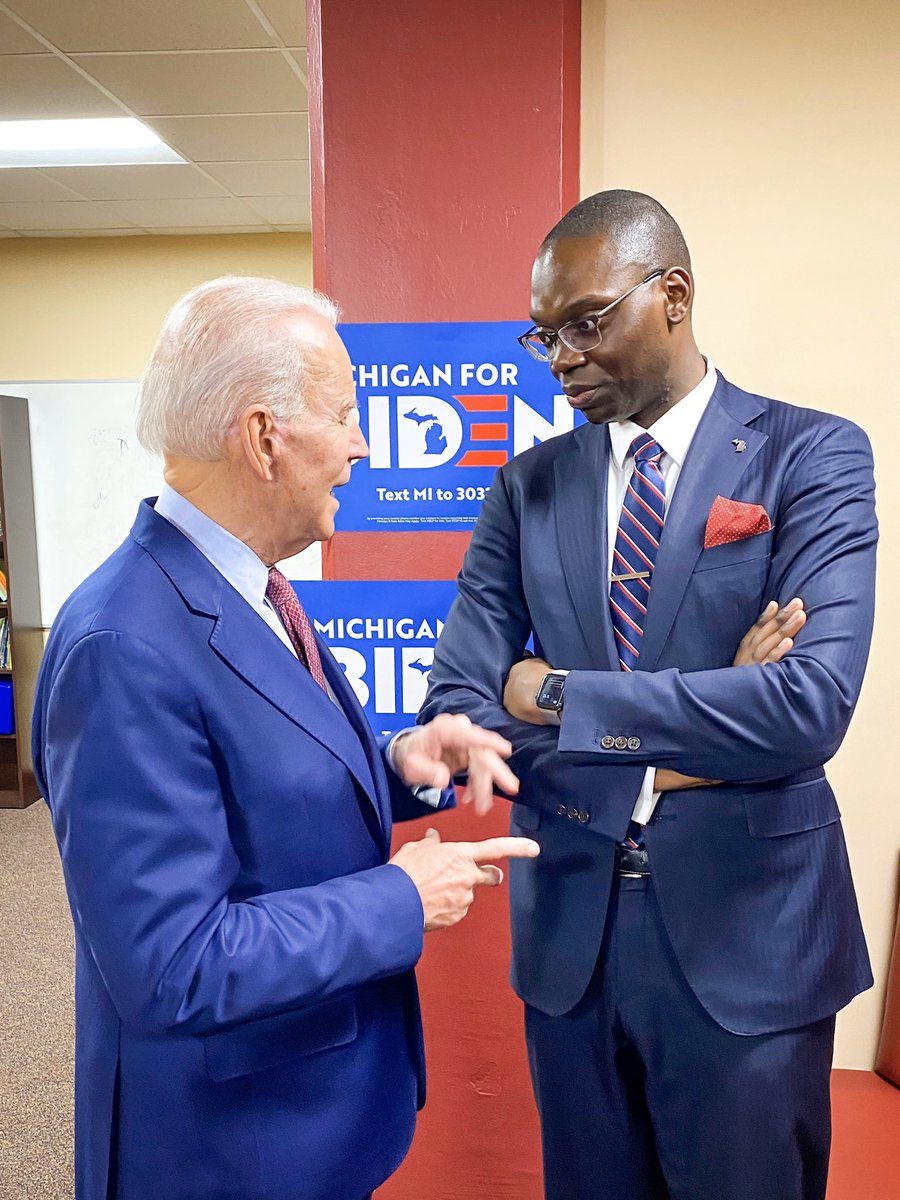 Garlin Gilchrist On Twitter It S Official Joebiden Is The Right Candidate To Not Only Win Michigan But Carry Michigan In November Rebuild The Blue Wall And Beat Donald Trump Standtall Https T Co Wrar8zu3zv