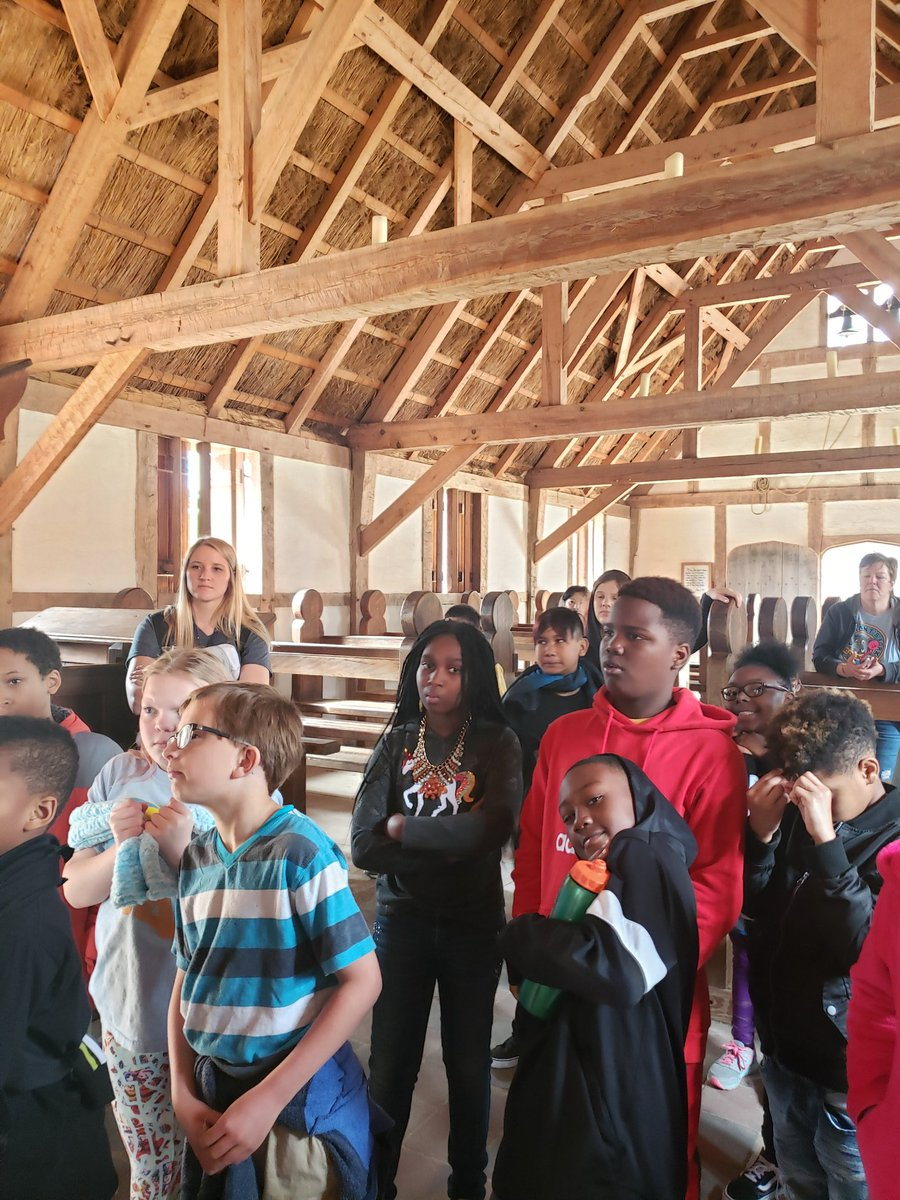 Nettles House Learning became Nettles House of Exploring! The kids did great today on our field trip to Jamestown.