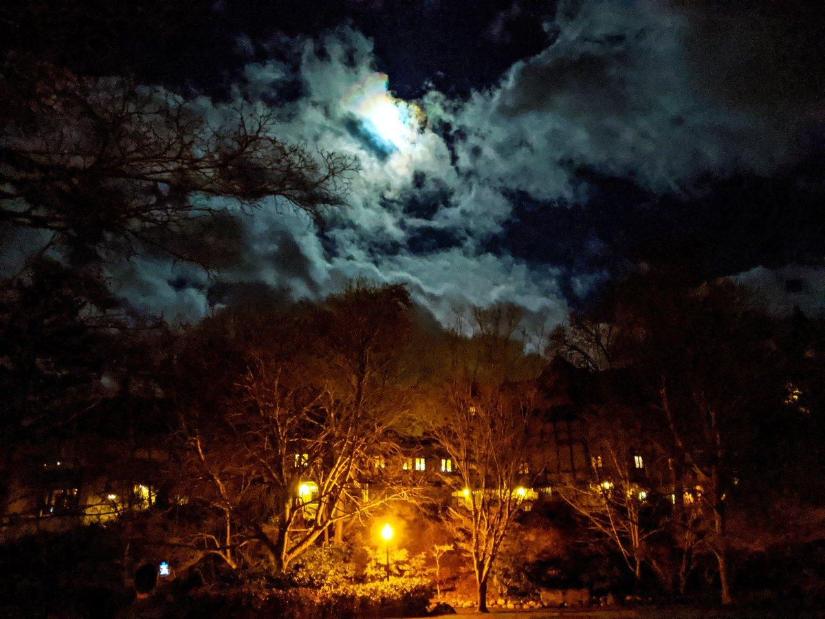 Pre-full moon over @osfashland   #southernOregon @TravelAshlandOR @TravelOregon pic.twitter.com/Jih7SioeYJ – bei Oregon Shakespeare Festival  by Kathleen Bauer