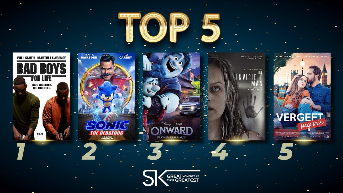 These are last week's Top 5 Movies at Ster-Kinekor. How many of our must-sees have you seen? Want to see more for less? Then join our #SubsClub and you can watch all the movies you want from just R249 a month! Join now: https://t.co/Mk13bbGM7J #DoMoviesRight #SKTop5 #countdown https://t.co/fjw7eL8SR1