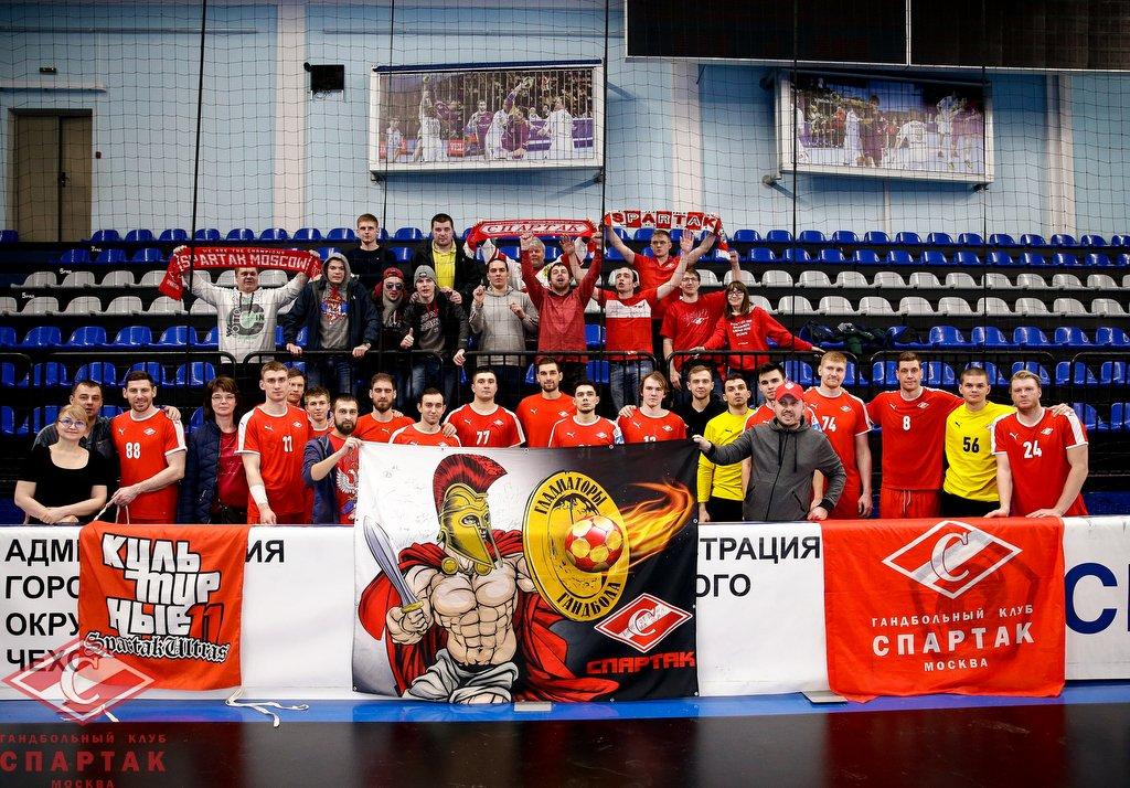 Гандбольный клуб спартак г москва официальный сайт стриптиз посетителей клубов видео