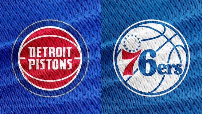 【NBA直播】2020.3.12 07:00-活塞 VS 76人 Detroit Pistons VS Philadelphia 76ers LIVE