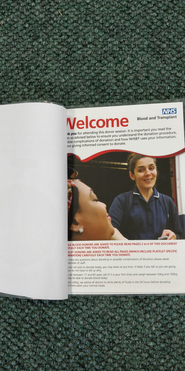Just donated blood, triage on arrival, strict handwashing and hand sanitizer, 2metres between chairs in waiting area and treatment room, brilliant staff as always #tunbridgewells, asking people to keep their appt if possible, #COVID-19 guidance on website @GiveBloodNHS @NHSBT