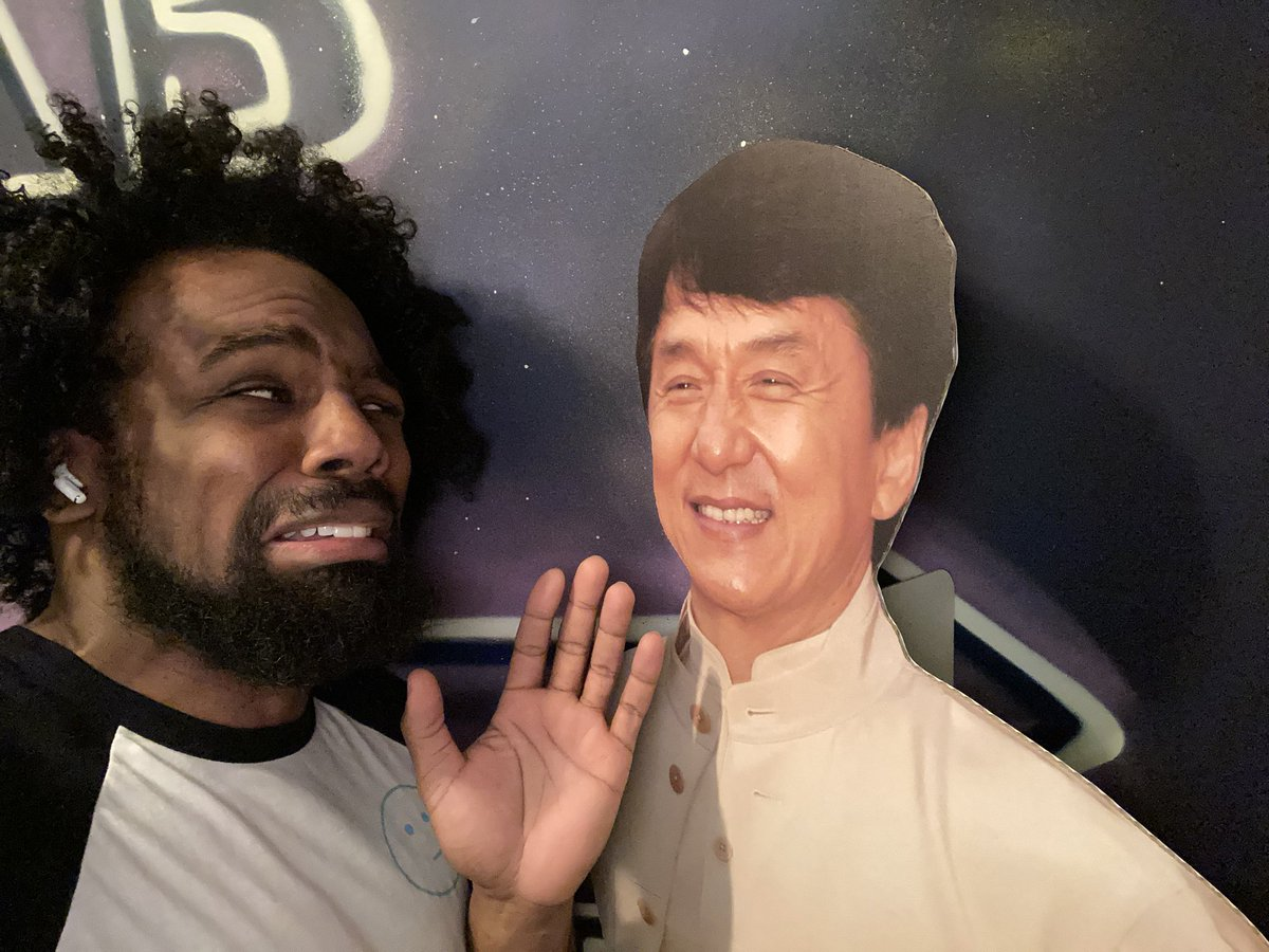 @XavierWoodsPhD's photo on jackie chan