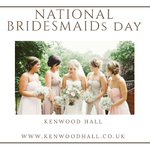 Image for the Tweet beginning: Today is #nationalbridesmaidsday so don't