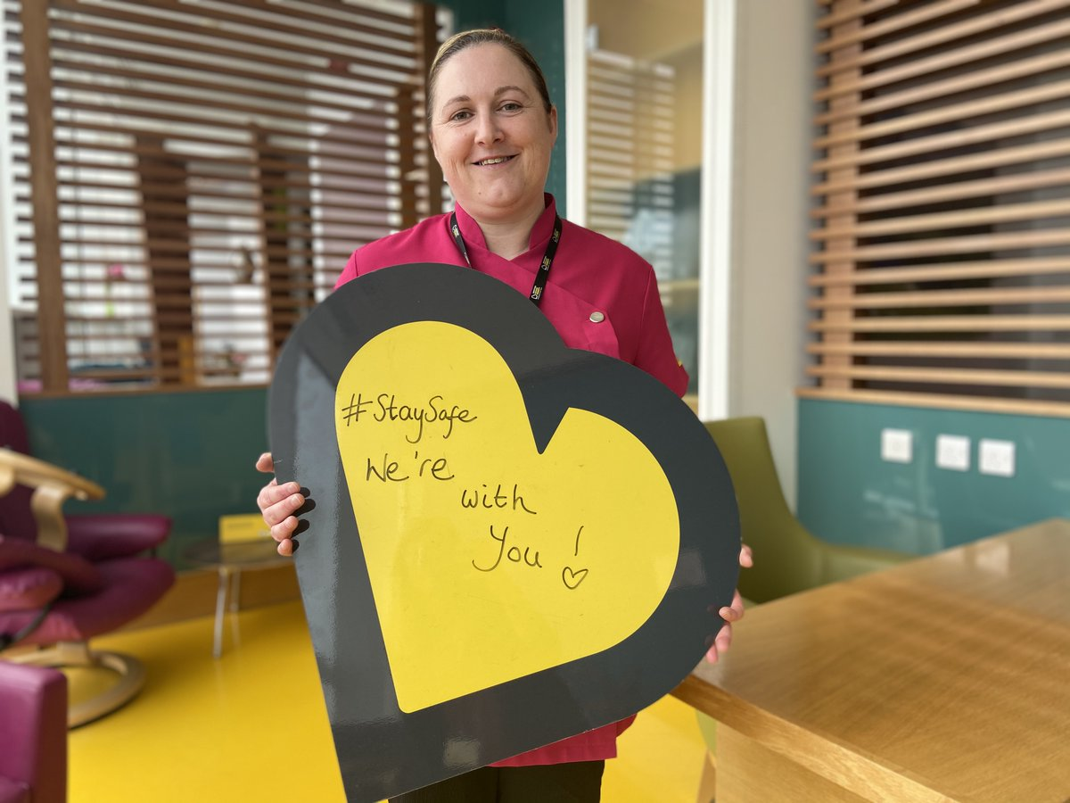 Our funded Radiographers & Clinical Nurse Specialists continue working hard to provide enhanced care and support to vulnerable cancer patients at this time.    If you can support us, donate at  💛  #beatsoncharitynews #werewithyou