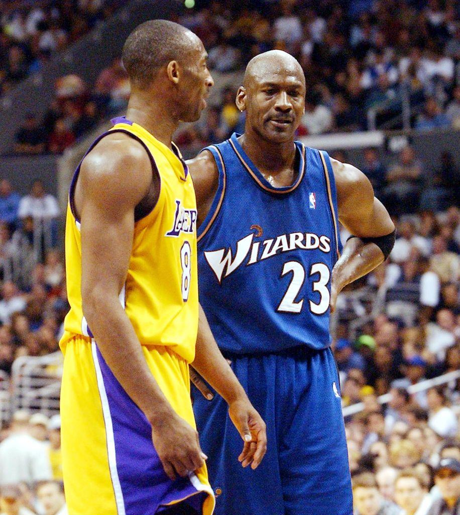 March 28, 2003: Kobe Bryant: 55 points Michael Jordan: 23 points Lakers 108, Wizards 94