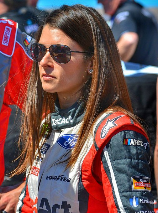 Happy 38th Birthday to former professional racing driver, Danica Patrick!