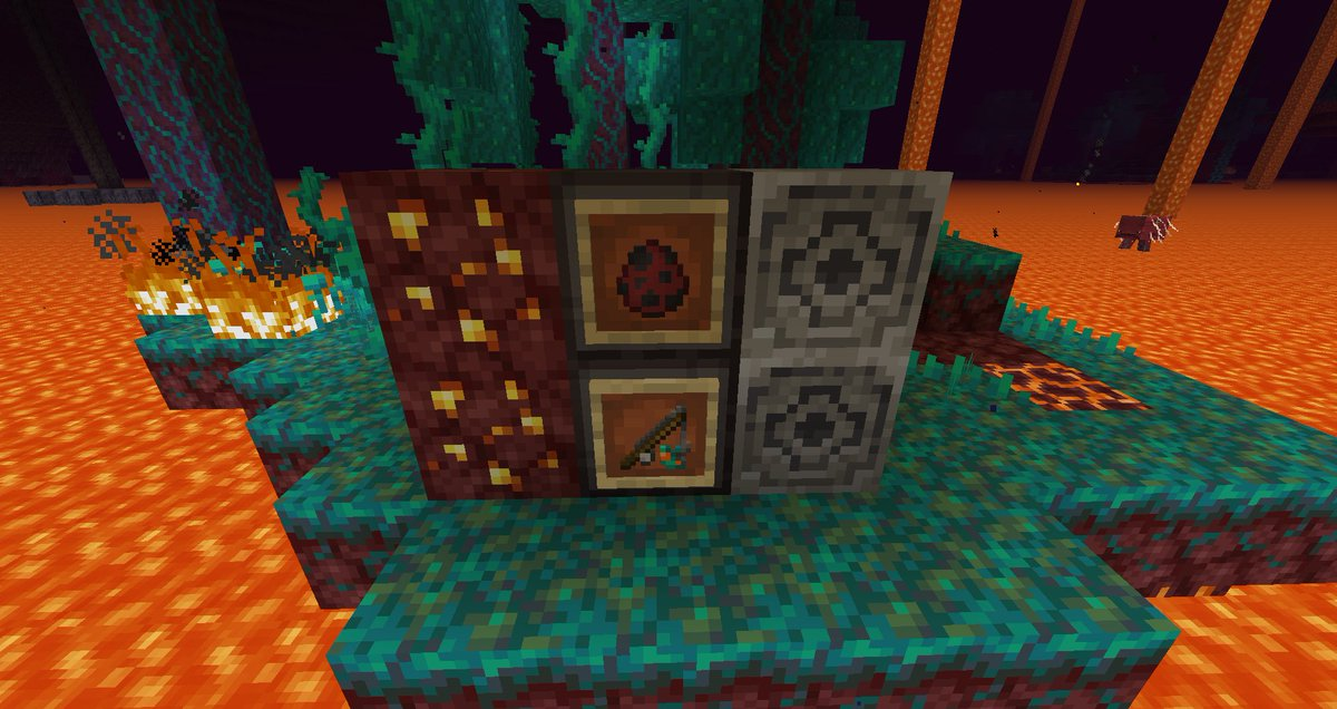 Minecraft News On Twitter Here Are Some Preview Images From The Latest Minecraft Java Snapshot The Strider Is A New Breedable Mob That Generates In Lava Lakes The Strider Can