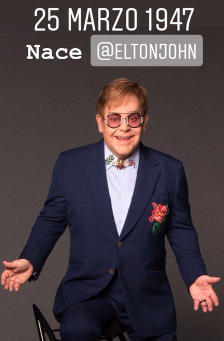 Happy Birthday Elton John!  hoy 3 IN A ROW en ¿Cuáles son tus 3 rolas preferidas de ?