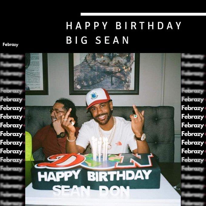 Big Sean turns 32 today. Happy birthday!