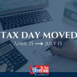 #TaxDay has been moved from April 15 to July 15. During this extension no interest or penalties will be charged for filing. Individuals expecting refunds or credits may claim now to get their money sooner. #TaxDay2020 https://t.co/iiIISocEMr