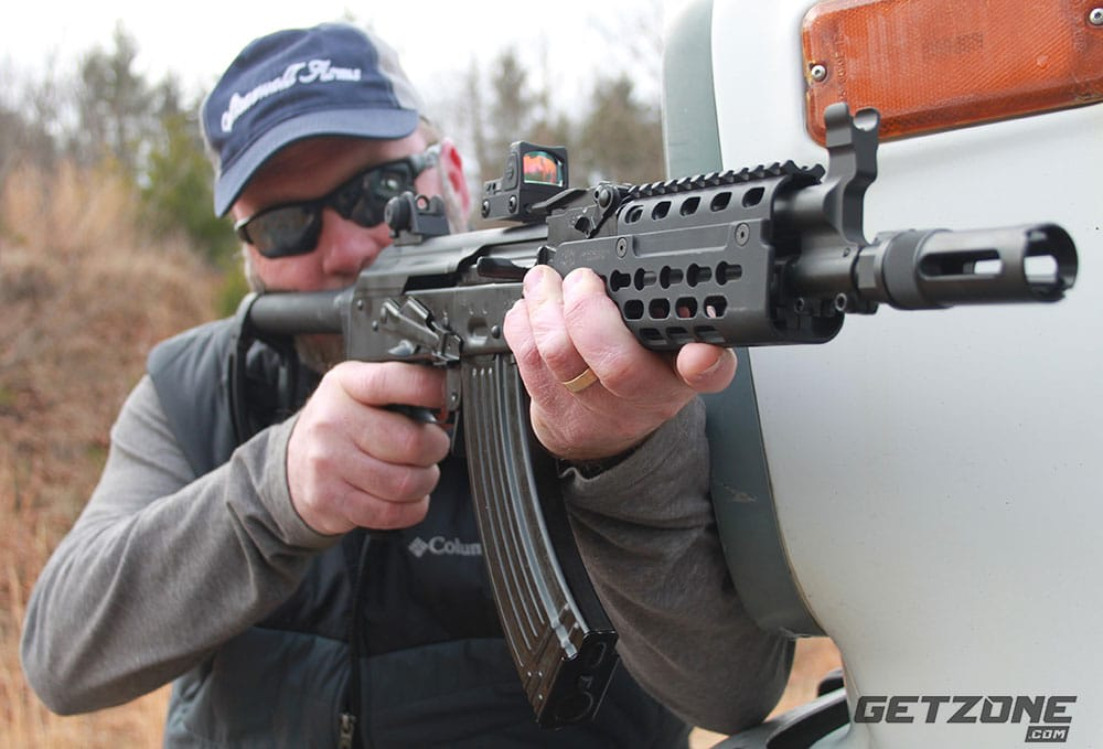 Krebs Custom PD18 AK Pistol: Adaptation At Its Finest - A GetZone #GunReview by Todd Burgreen http://bit.ly/2QmzeAv @KrebsCustom #guns #akpistol #PD18pic.twitter.com/P68QCBwRlB