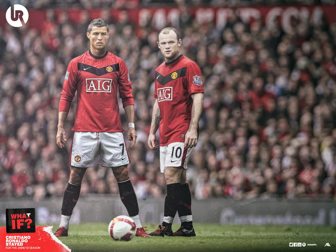 Utdreport On Twitter What If Cristiano Ronaldo Stayed At Manchester United For The 2009 2010 Season