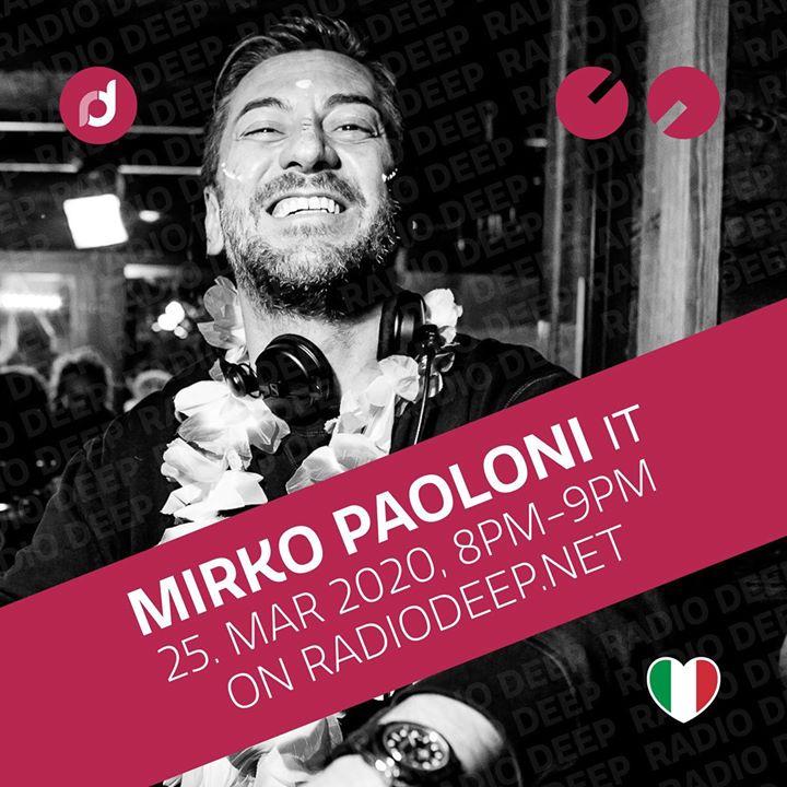 Mirko Paoloni from Radio Partygroove Italy 8pm - 9pm on http://radiodeep.net.  #radiodeep #houseradio #housemusic #radio #deephouse #welovedeep #radioshowpic.twitter.com/xKep5IrlcN