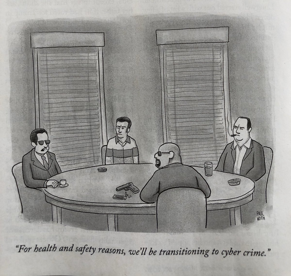From the @NewYorker that just landed on our doorstep