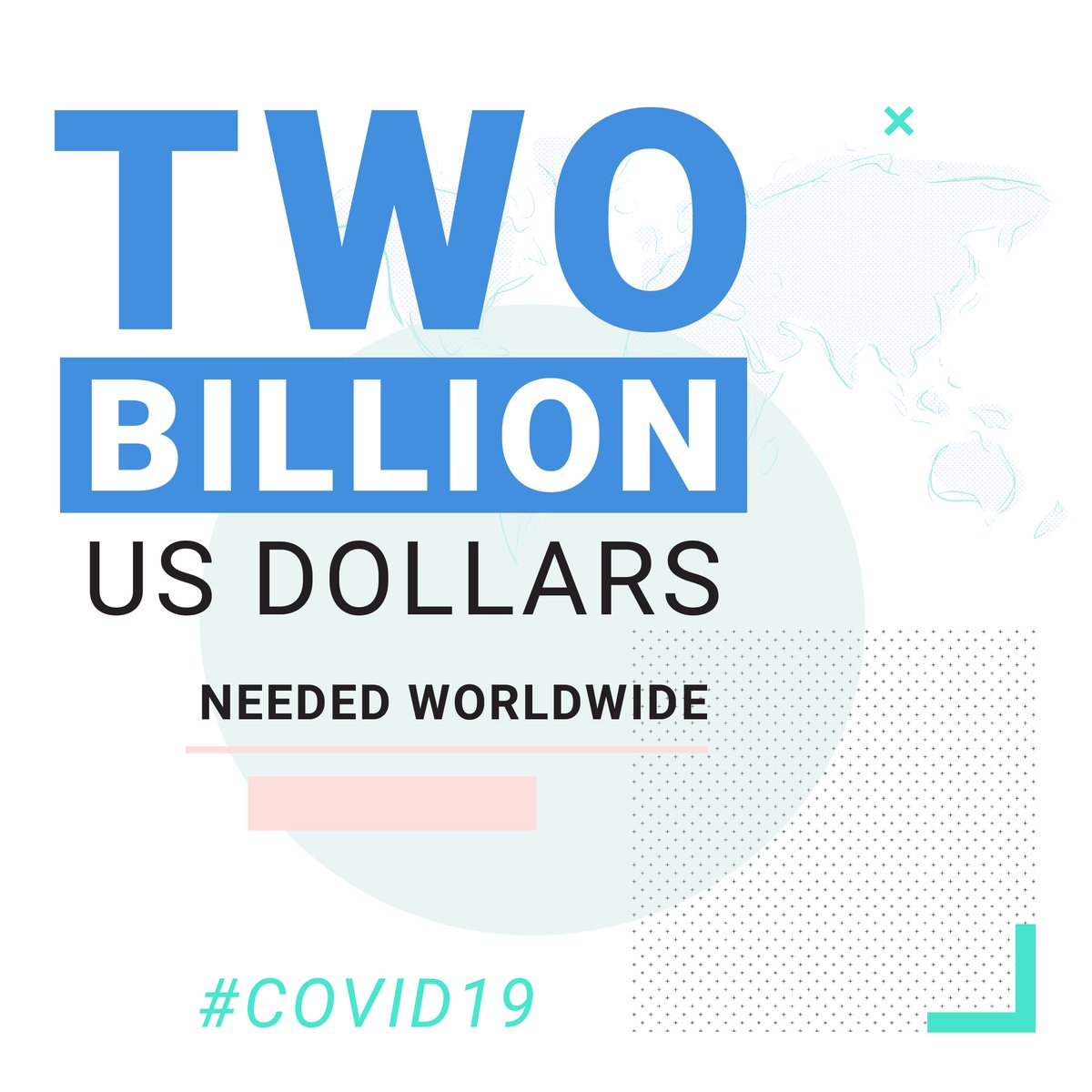 #COVID19  is menacing the whole of humanity – and so the whole of humanity must fight back.  Today we are launching a $2 billion global humanitarian response plan to fund the fight against #coronavirus  in the world's most fragile countries.   https://bit.ly/2R0LcTl