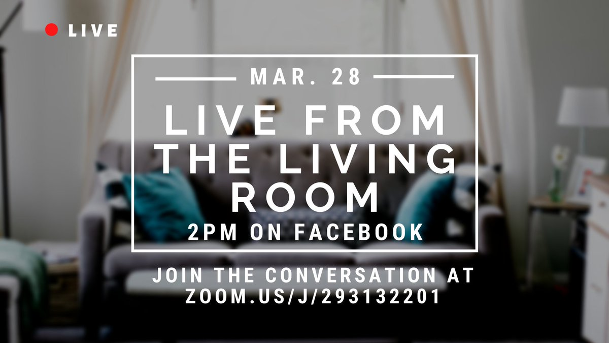 Our #monthlymixer will take place as a virtual meet up! Join us here: zoom.us/j/293132201 We'll see you Saturday! #communitymedia #shareyourstories