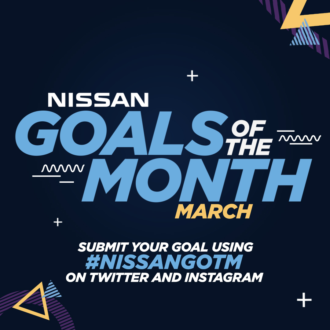 We might not have the professionals banging in the goals this month, but we have the next best thing - you guys!  Post your goals scored at home or in the garden using #NISSANGOTM and the most 🔥 will make the cut.  ⚽️ @NissanFootball  🔵 #ManCity https://t.co/bxbqCJUsFy