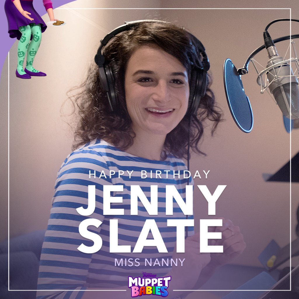 Happy Birthday to the incredible @jennyslate! Can you imagine a more perfect Miss Nanny? 🙅 #MuppetBabies