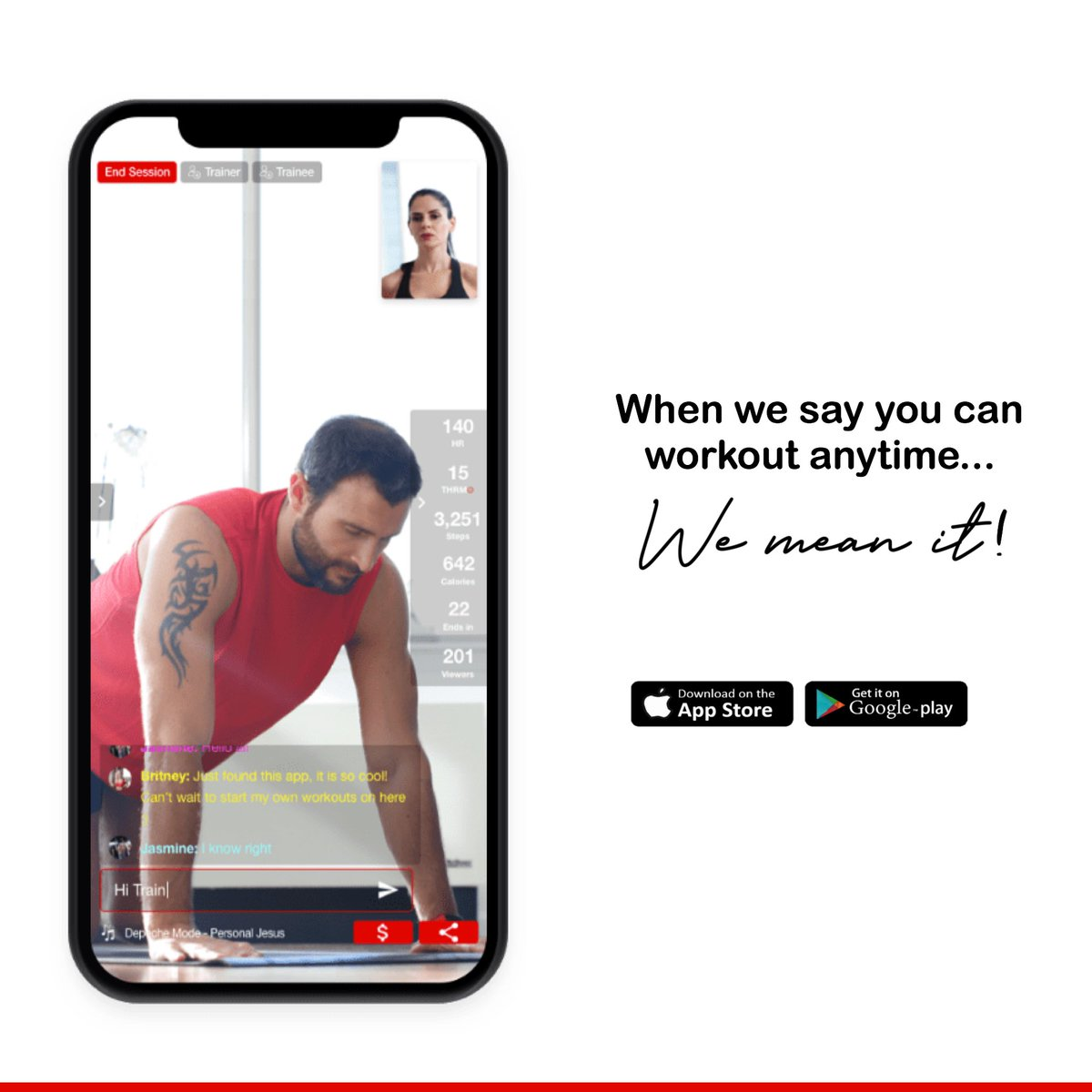 We are UBQFIT: An interactive fitness platform for the health & fitness community to maintain an active lifestyle with the push of a button. UBQFIT Trainers are ready for you.  #fitness24seven #workoutmotivation #personaltrain #speedtraining #weightloss #coronafree  #coronaviruspic.twitter.com/h3U0FO5QzY