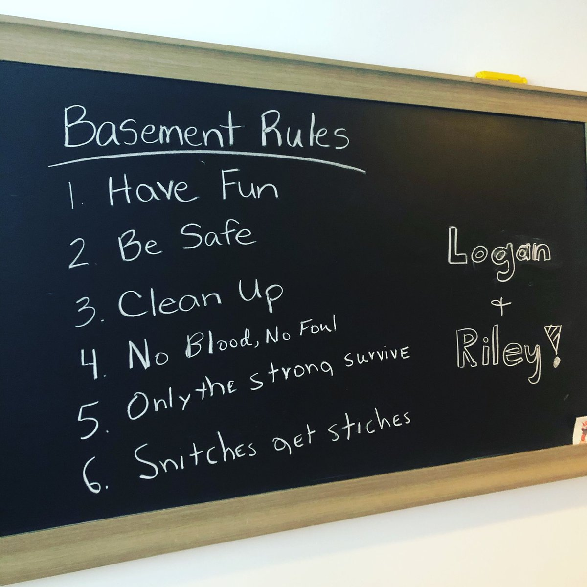 After a week of living the #QuarantineLife, the following rules have been added
