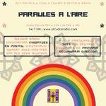 Image for the Tweet beginning: A partir de demà Paraules