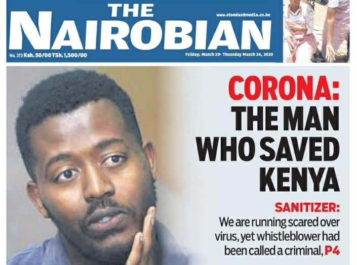 Asante sana, Mr. Gire Ali. Your alarm bell was timely and you nudged an entire Nation to action. #Kenya #coronaviruskenya - #SalutingAllFrontlinersKE<br>http://pic.twitter.com/52EohzW1qF