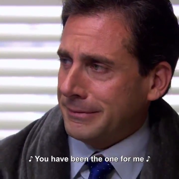 Press F for Michael Scott's post-breakup song choice.