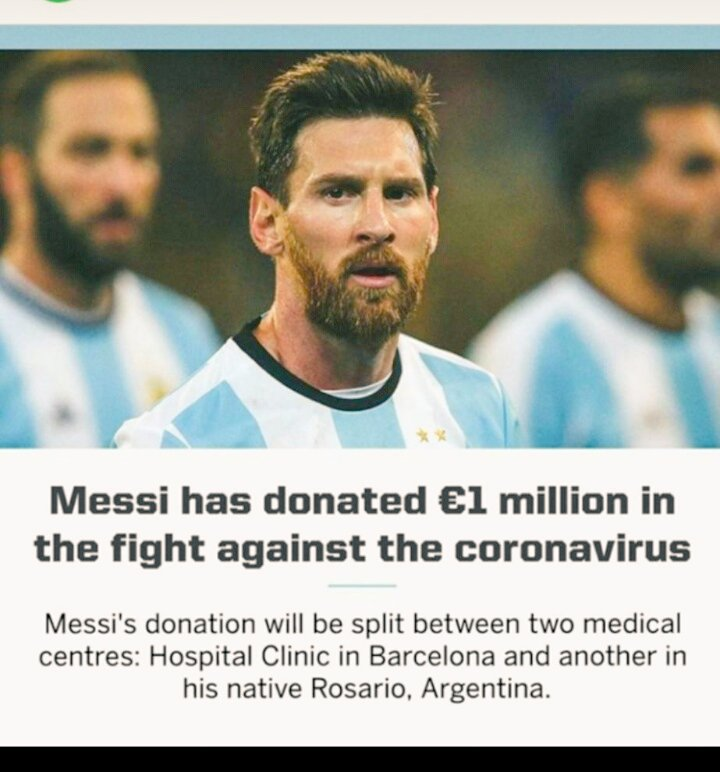 This is the real hero #Messi pic.twitter.com/7EfVQIKWj0