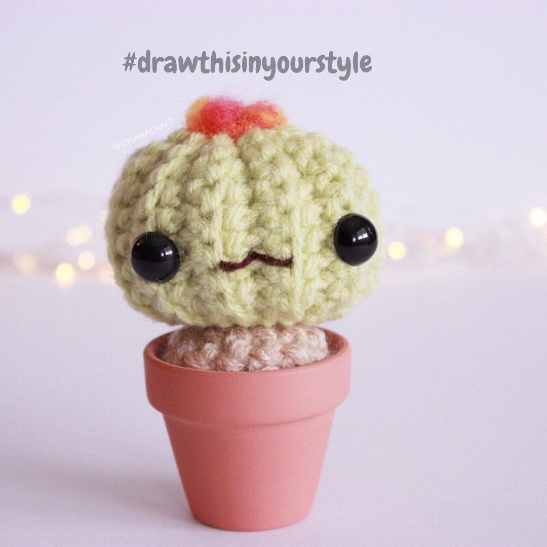 Pricklelicious is wondering if any of you would like to #drawthisinyourstyle ? ⠀ http://linktr.ee/ohanacraft #ohanacraft #amigurumi #SocialDistancing #amigurumiclan #jualamigurumi #crochetpattern #yarnpunk #crochetcactus #mood  #artistsoninstagram  #illustrationartist #yqrpic.twitter.com/wTKr7aZwax