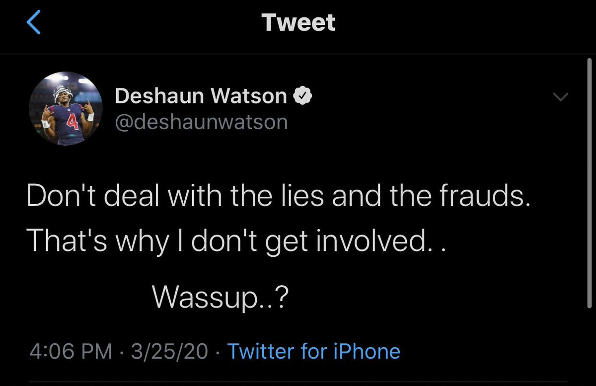 #Texans QB Deshaun Watson is the latest athlete to join the cryptic tweets game. pic.twitter.com/9IOiZ9Pu9x