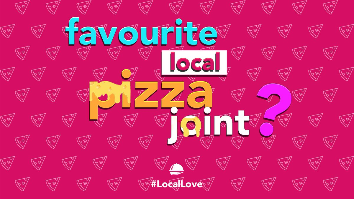 To share our #LocalLove in the spirit of #PizzaMonth, we ask that you give your favourite local pizza joint a shoutout! 🙏🍕 #supportlocal https://t.co/ii0TX70ZGt